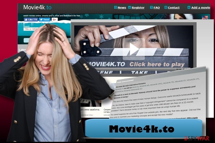 How to remove movies4k to virus