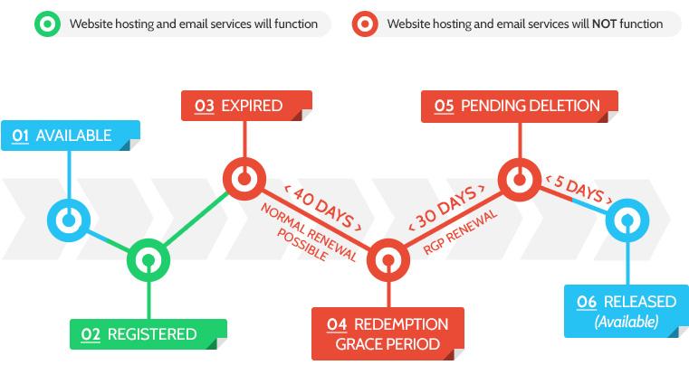 domain expiration process