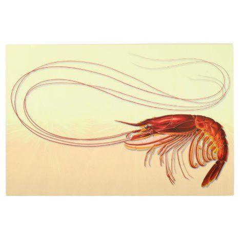 Large Shrimp Long Antennae Metal Wall Art | Zazzle.com in 2021 | Metal wall  art, Large metal wall art, Seafood wall art