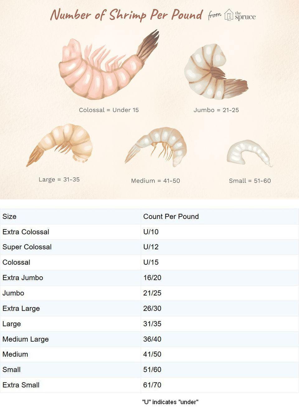Shrimp Counts Per Pound and How Much to Serve | The spruce eats, Shrimp,  Large shrimp